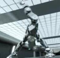 Crouching Robot