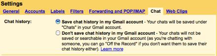 GMail Chat Tab