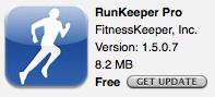 RunKeeper Pro